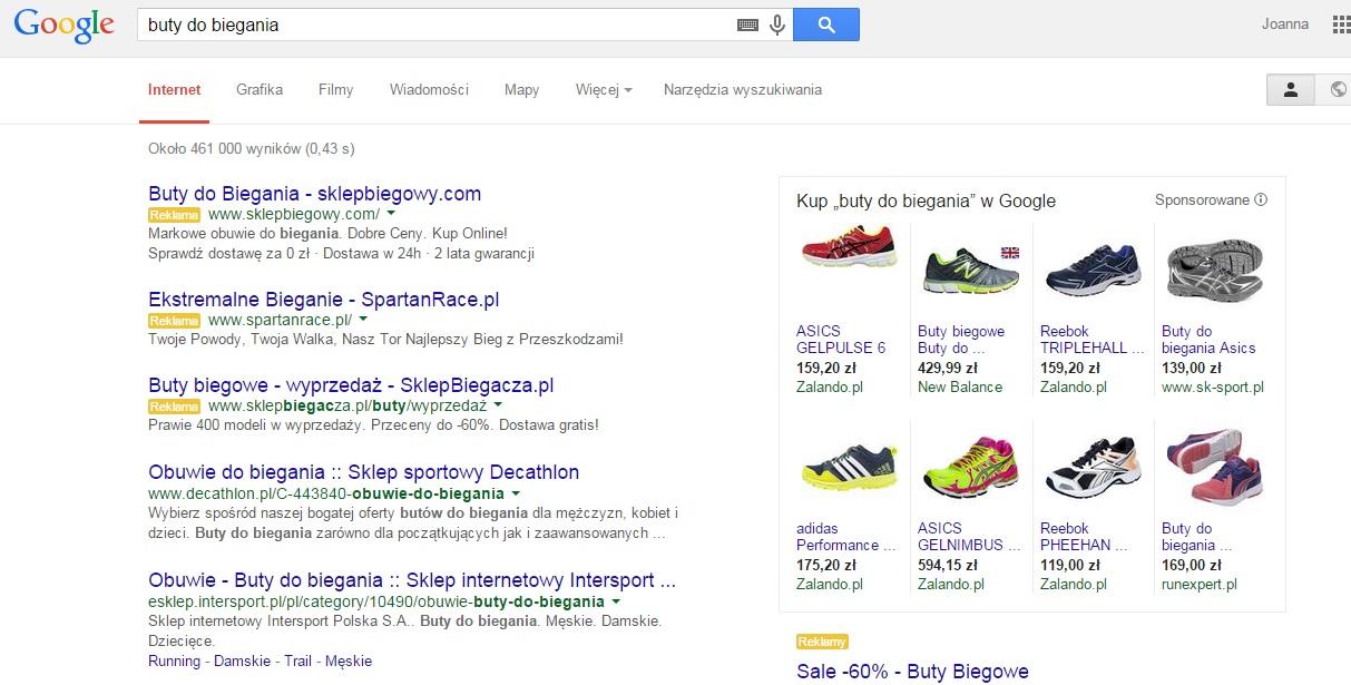 Co zyska Twój sklep internetowy, jeśli skorzystasz z reklam typu Zakupy Google?