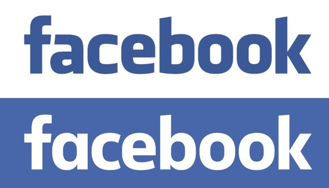 Facebook - stare i nowe logo