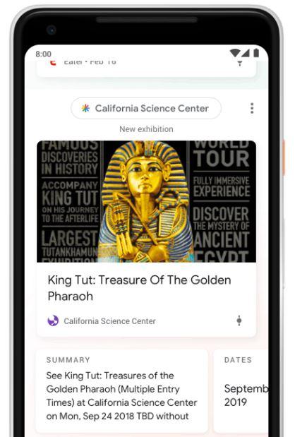 Informacje dodatkowe w Google Discover